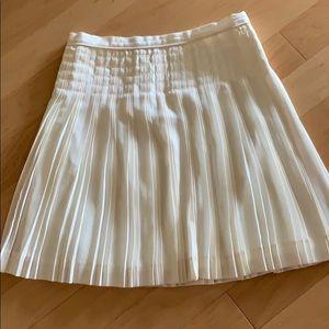 J crew pleated mini skirt